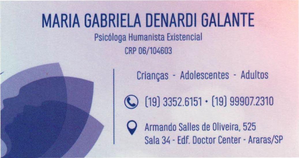 Maria Gabriela Denardi Galante