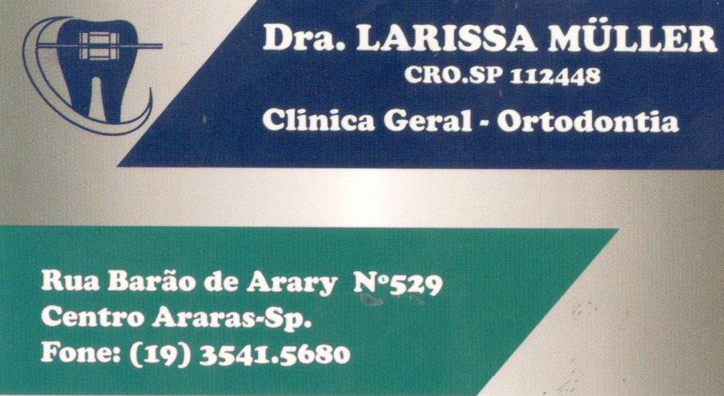 Dra. Larissa Muller