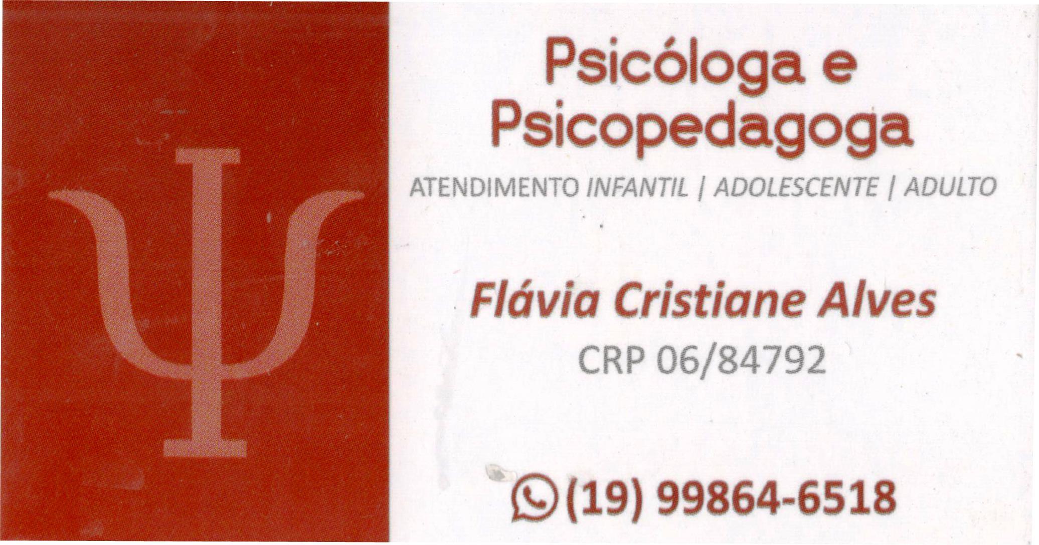 Flávia Cristiane Alves